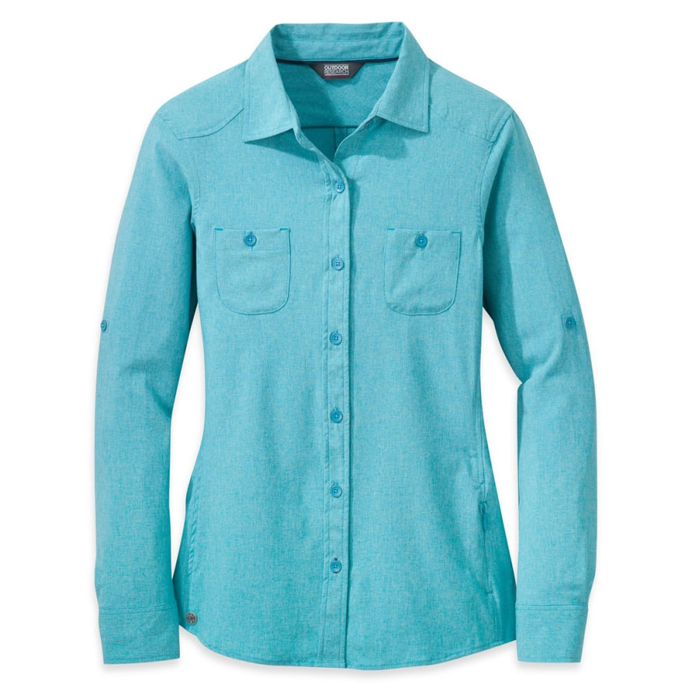 OUTDOOR RESEARCH Women's Reflection Long-Sleeve Shirt - TYPHOON