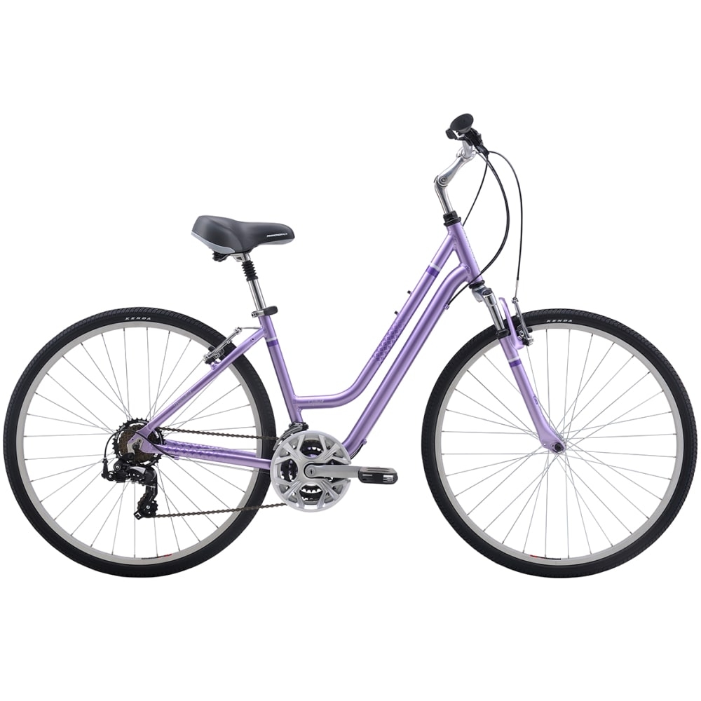 DIAMONDBACK Women's Vital 2 Hybrid Bike - PURPLE
