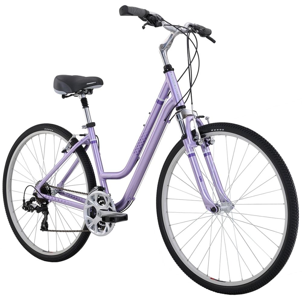 DIAMONDBACK Women's Vital 2 Hybrid Bike - PURPLE