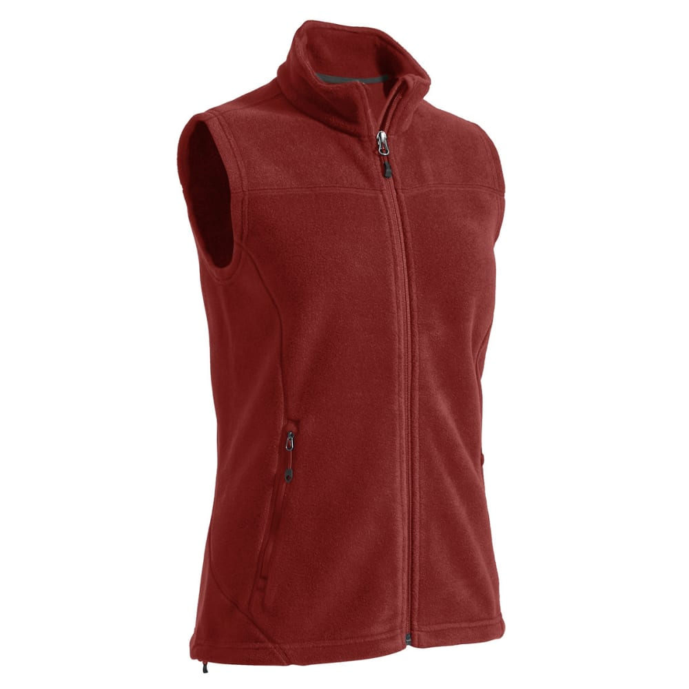 EMS® Women's Classic 200 Fleece Vest - BRICK RED