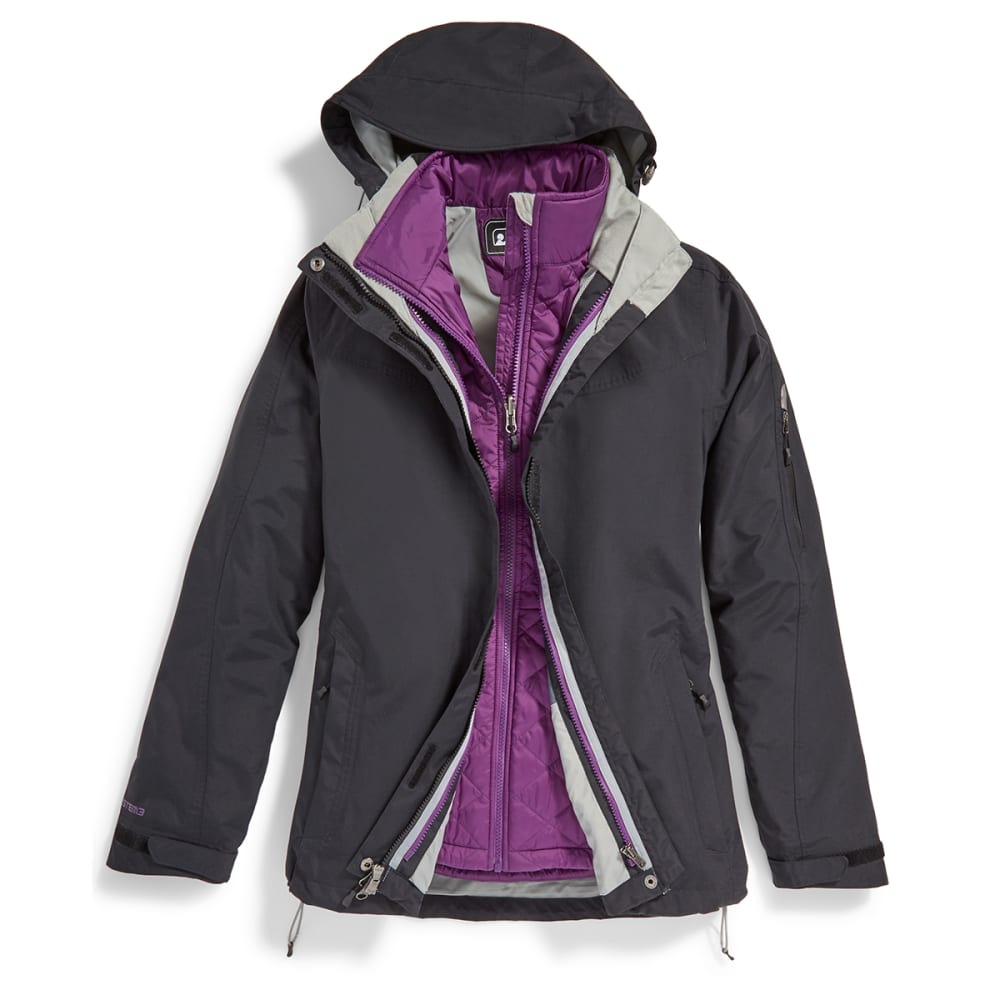 EMS® Women's Freescape 4-In-1 Jacket - BLACK