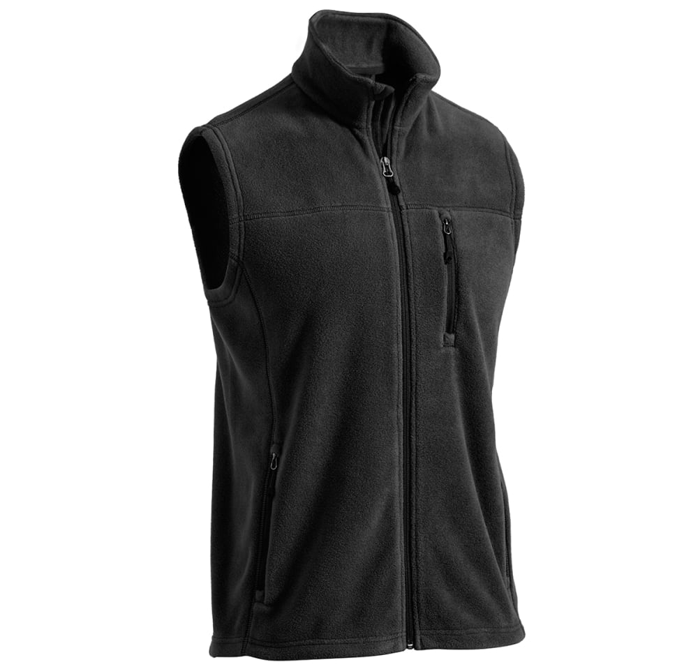 EMS® Men's Classic 200 Fleece Vest - BLACK