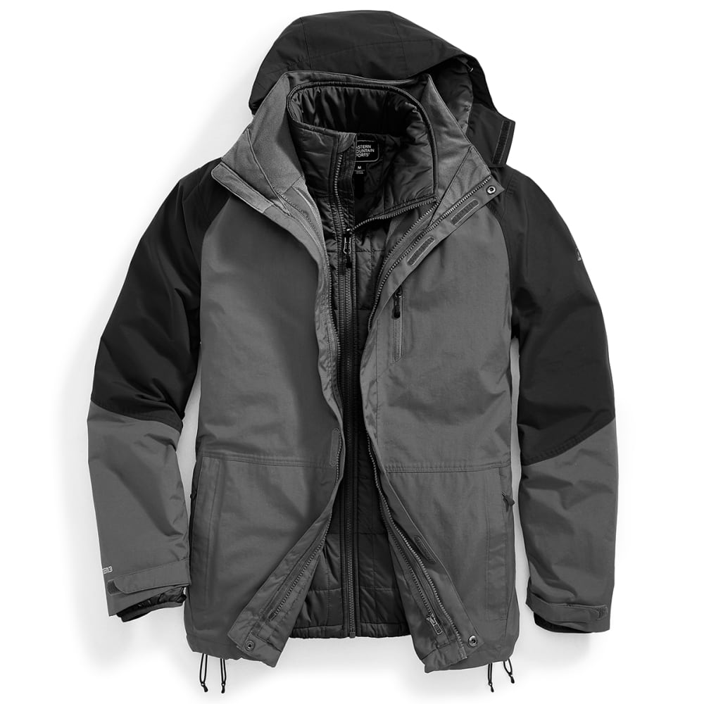 EMS® Men's Freescape 4-In-1 Jacket - BLACK