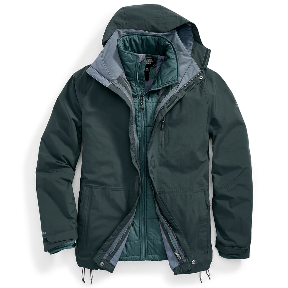 EMS® Men's Freescape 4-In-1 Jacket - DARKEST SPRUCE
