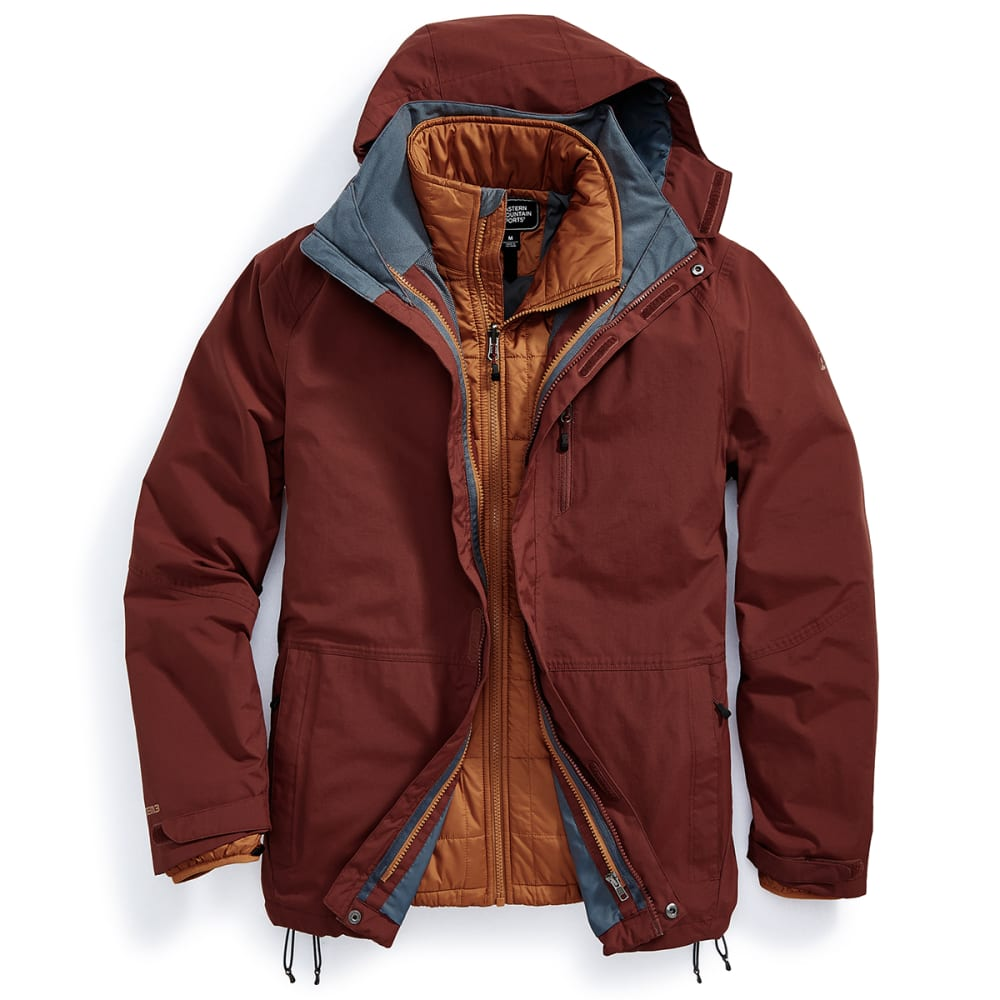 EMS® Men's Freescape 4-In-1 Jacket - FIRED BRICK