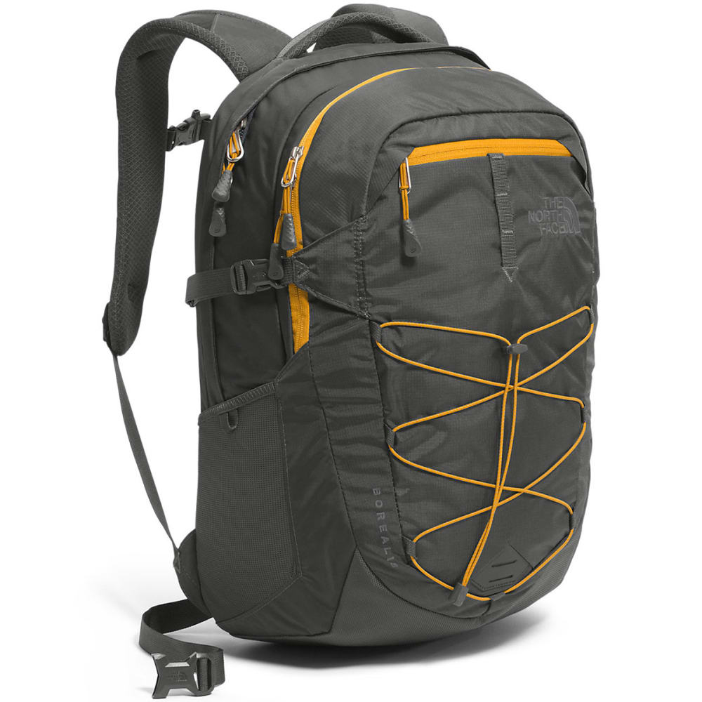 THE NORTH FACE Men's Borealis Backpack - ASPHALT GREY/YLW-LCW