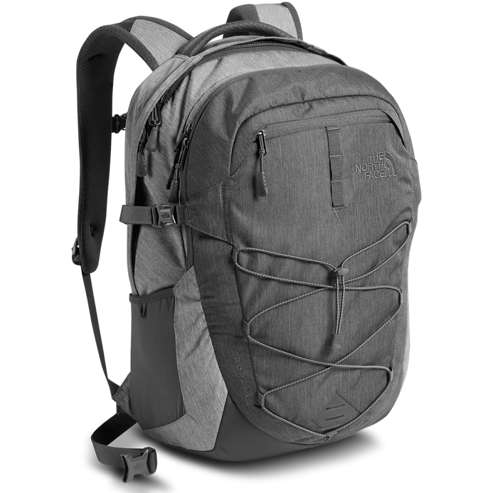 THE NORTH FACE Men's Borealis Backpack  - TNF DARK GREY HEATHR
