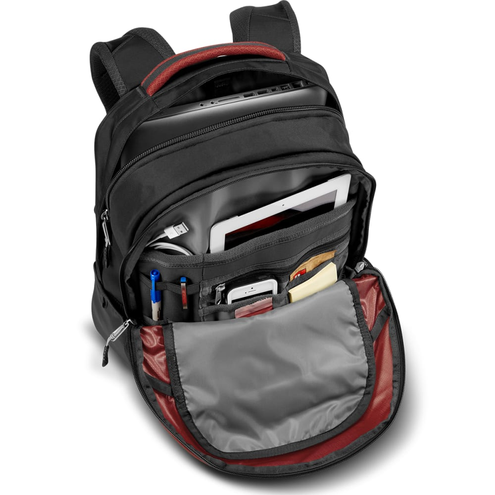 THE NORTH FACE Men's Borealis Backpack - KETCHUP RED/GREY