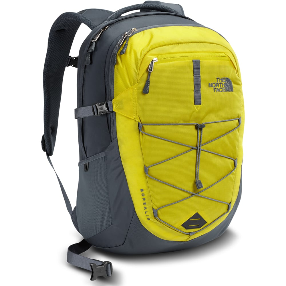 THE NORTH FACE Men's Borealis Backpack  - ACID YELLOW/GREY