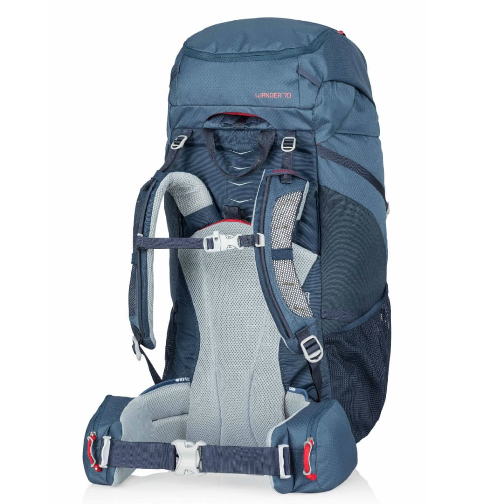 GREGORY Kids' Wander 70 Backpack - NAVY BLUE/RED