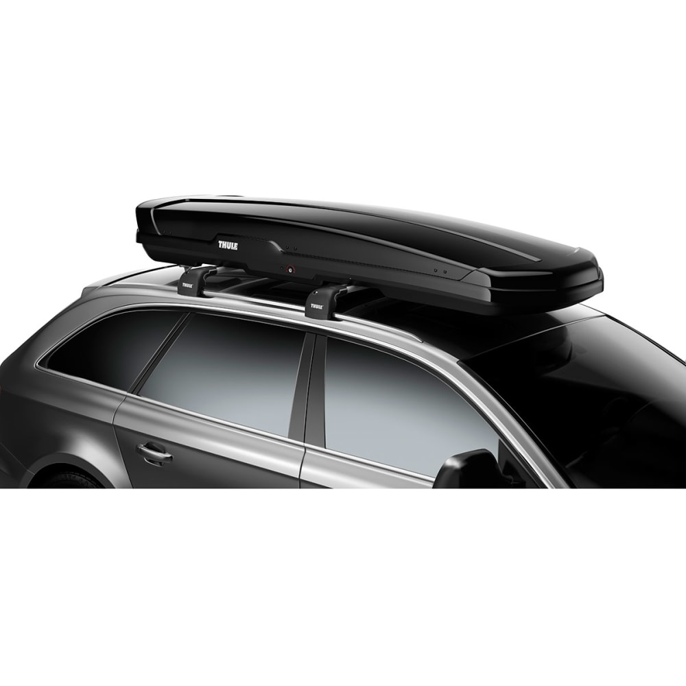 THULE Flow 606 Ski Box - BLACK