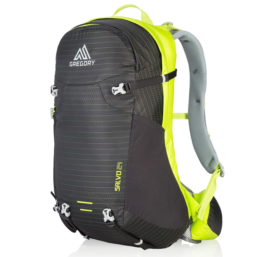GREGORY Salvo 24 Pack - BLACK/MACAW GREEN