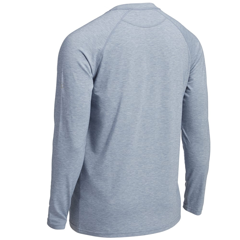 EMS® Men's Techwick® Millstone Raglan Long-Sleeve Shirt - FADED DENIM