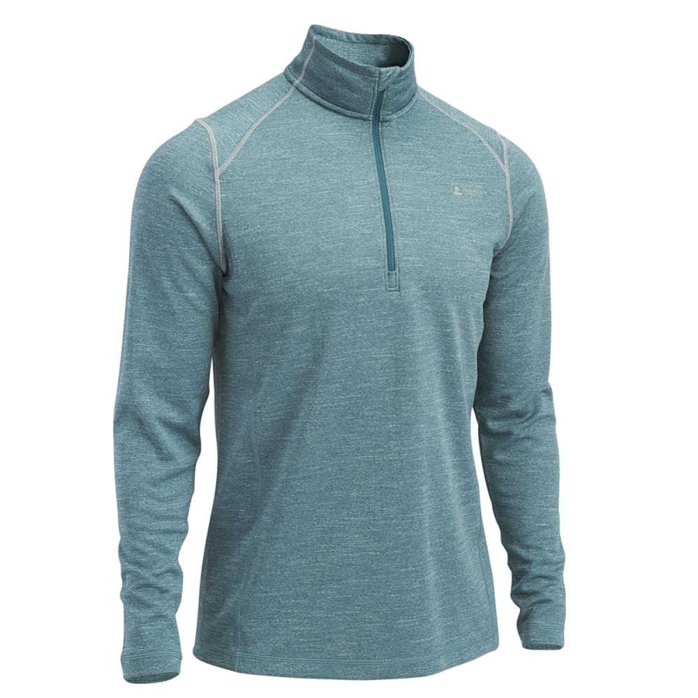 Deals on EMS Men's Techwick Dual Thermo ½ Zip