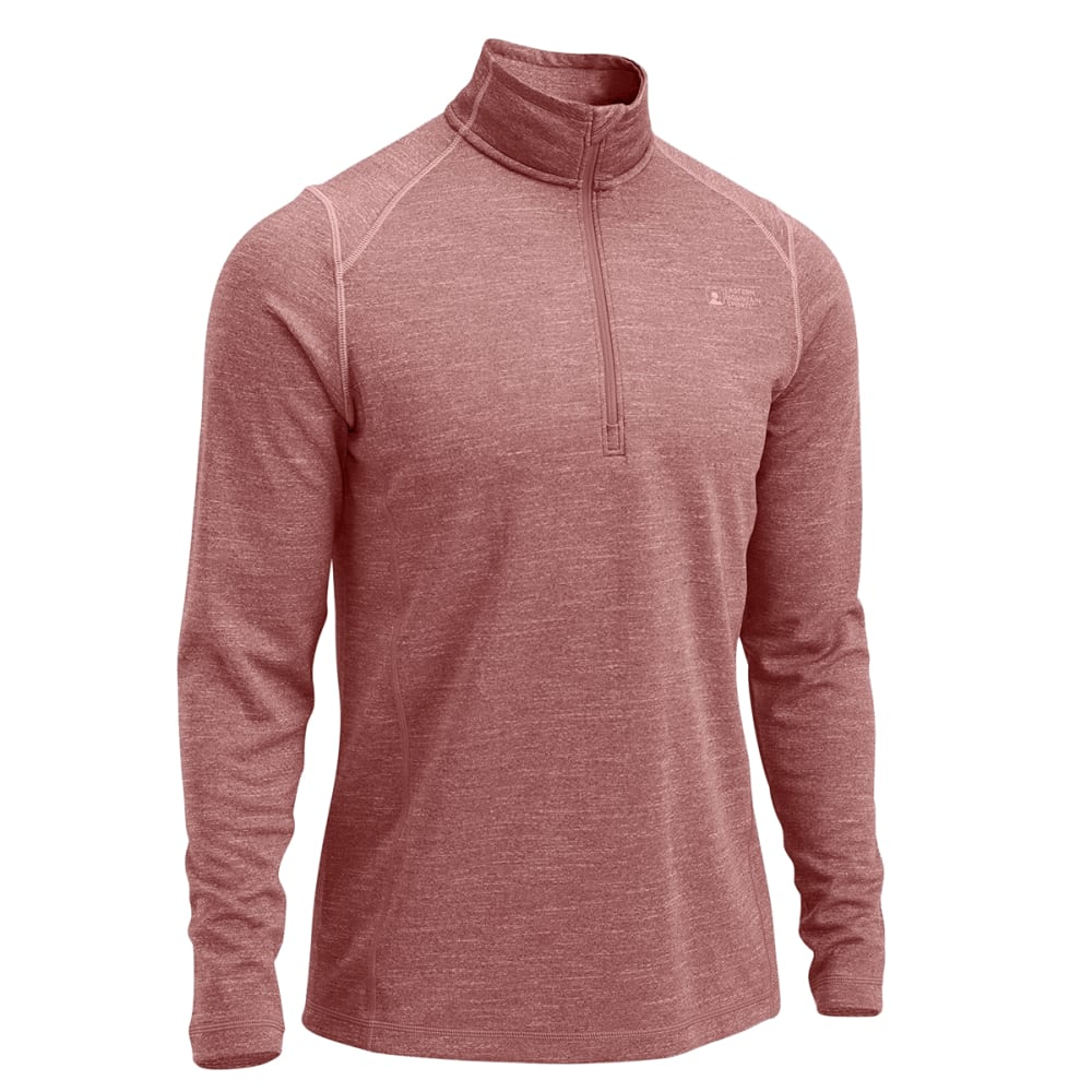 EMS® Men's Techwick® Dual Thermo  ½  Zip - FIREBRICK