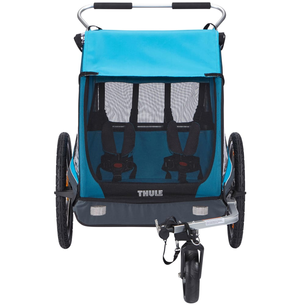 THULE Coaster XT Bike Trailer + Stroller - BLUE