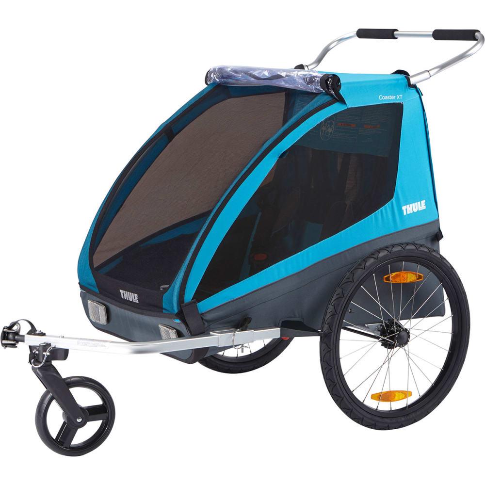 Thule coaster xt bike trailer stroller for Porte velo thule