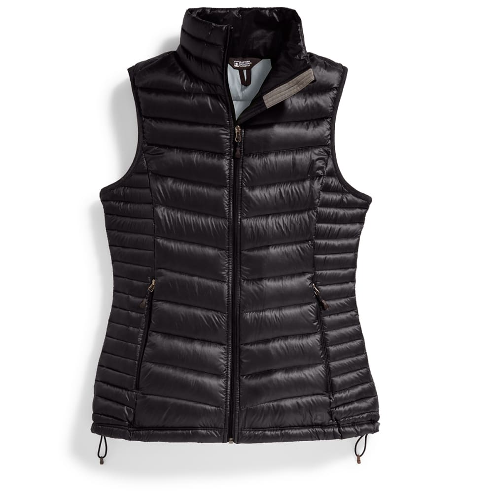Ems women s feather pack down vest eastern mountain sports for Women s fishing vest