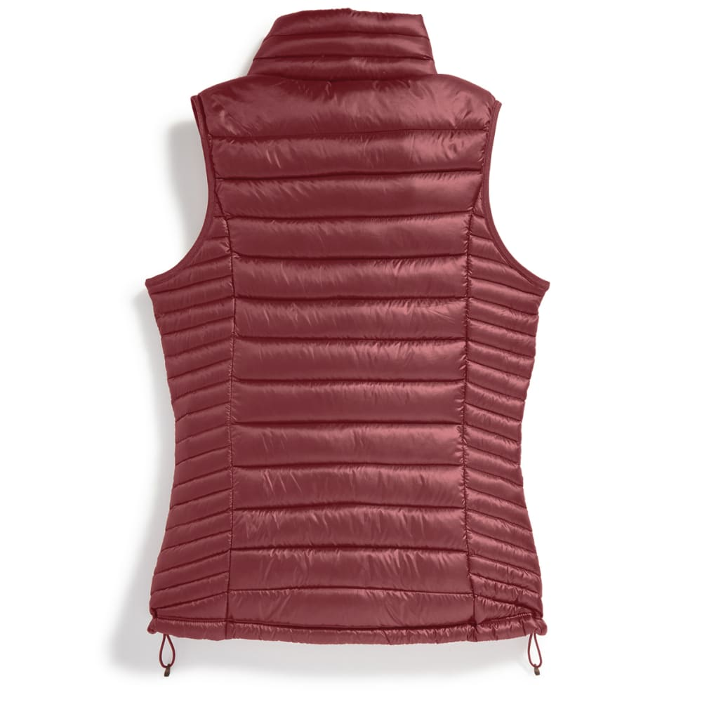 EMS Women's Feather Pack Down Vest - BRICK RED