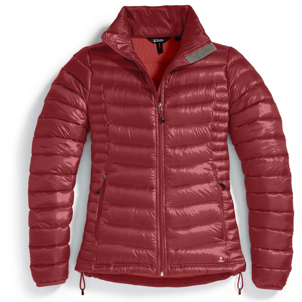 EMS Women's Feather Pack Jacket - BRICK RED