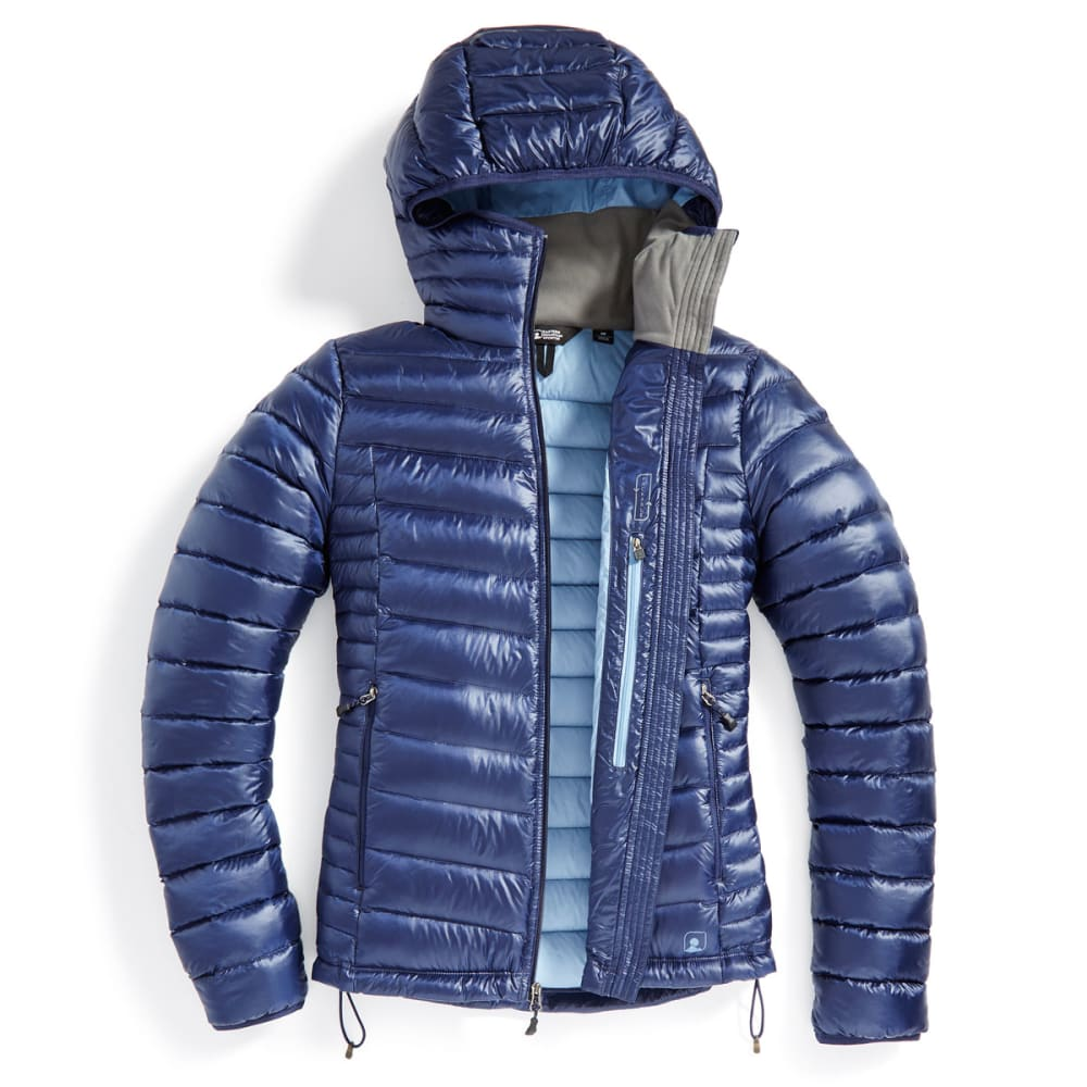 EMS Women's Feather Pack Hooded Jacket - PEACOAT