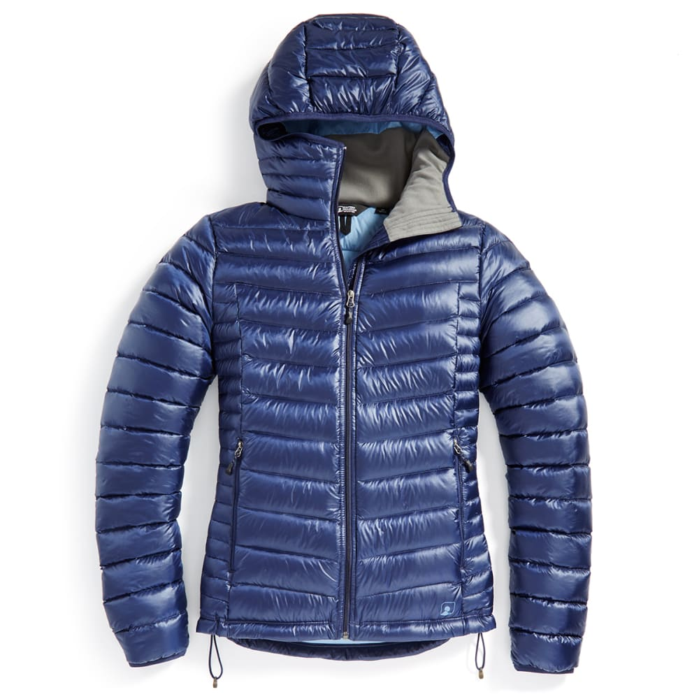 EMS® Women's Feather Pack Hooded Jacket - PEACOAT