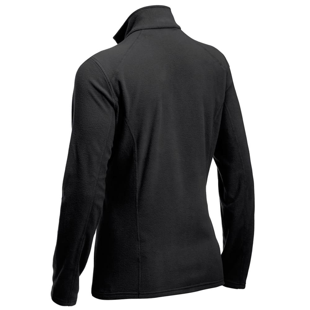 EMS Women's Classic Micro Fleece ¼ Zip - BLACK