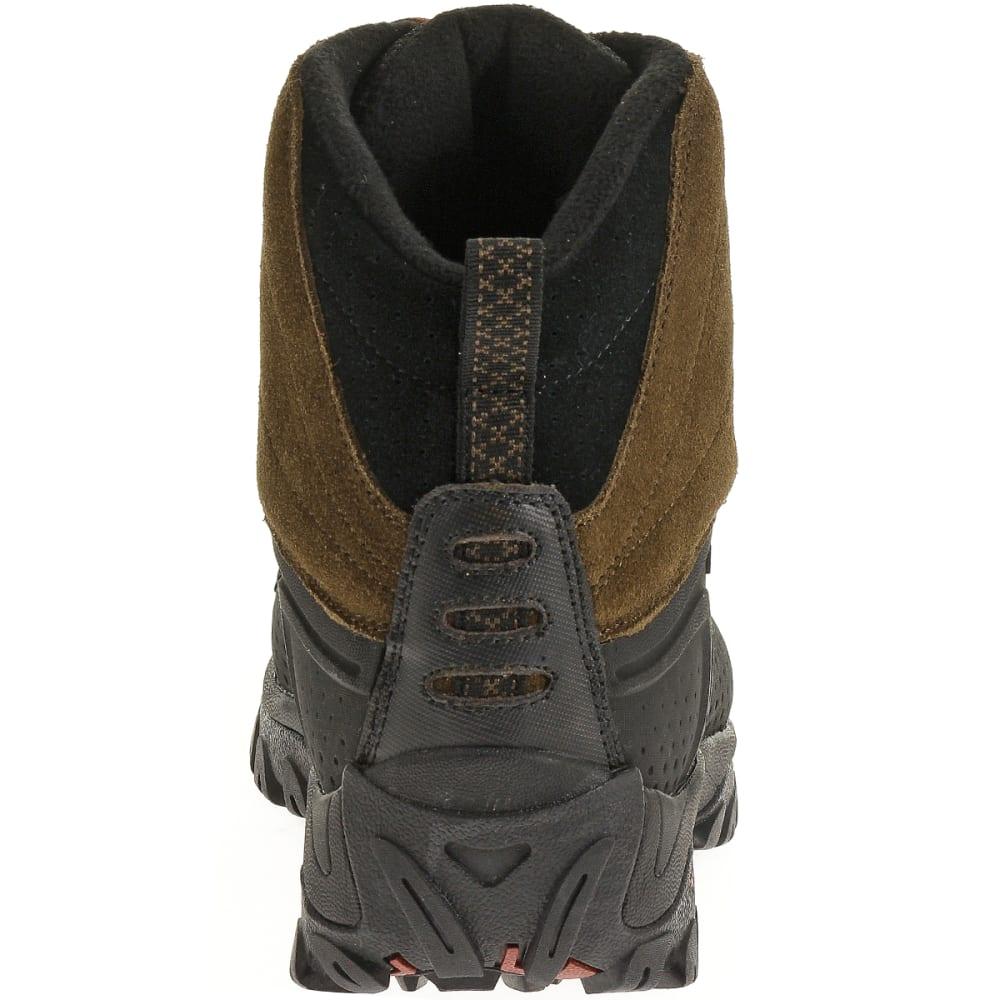 MERRELL Men's Icerig Clip Shell Boots, Dark Earth - DARK EARTH/RED OCHRE