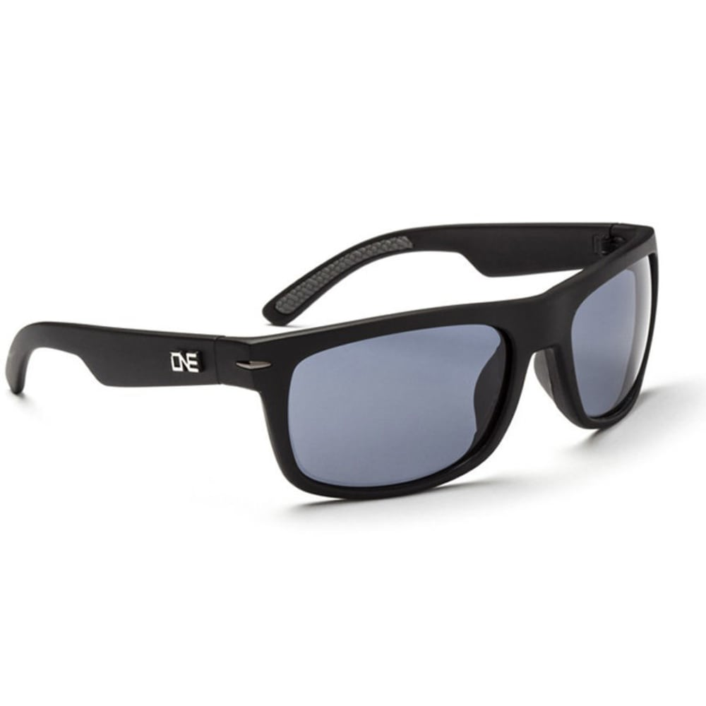 ONE BY OPTIC NERVE Timberline Polarized Sunglasses, Black - BLACK