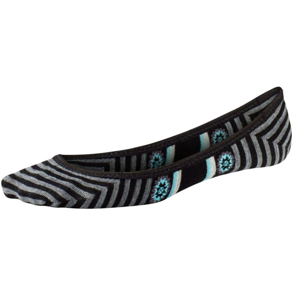 SMARTWOOL Women's Dazed Dandelion Sleuth Socks - BLACK-001