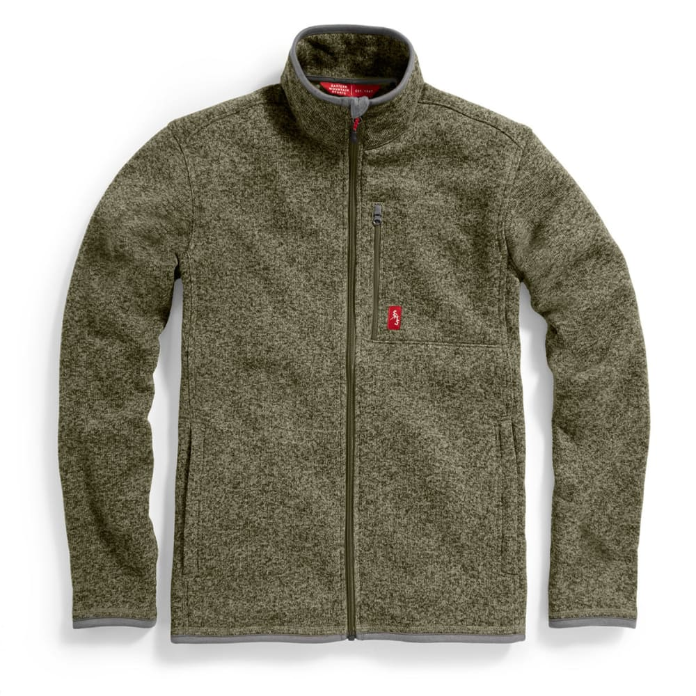 EMS® Men's Roundtrip Full-Zip Sweater - FOREST NIGHT