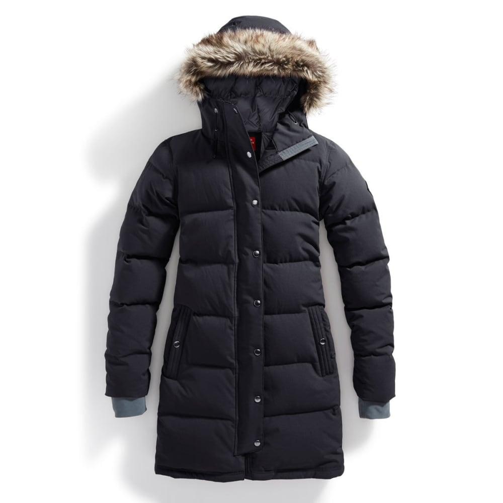 EMS® Women's Klatawa Long Down Jacket - BLACK/HIGH RISE