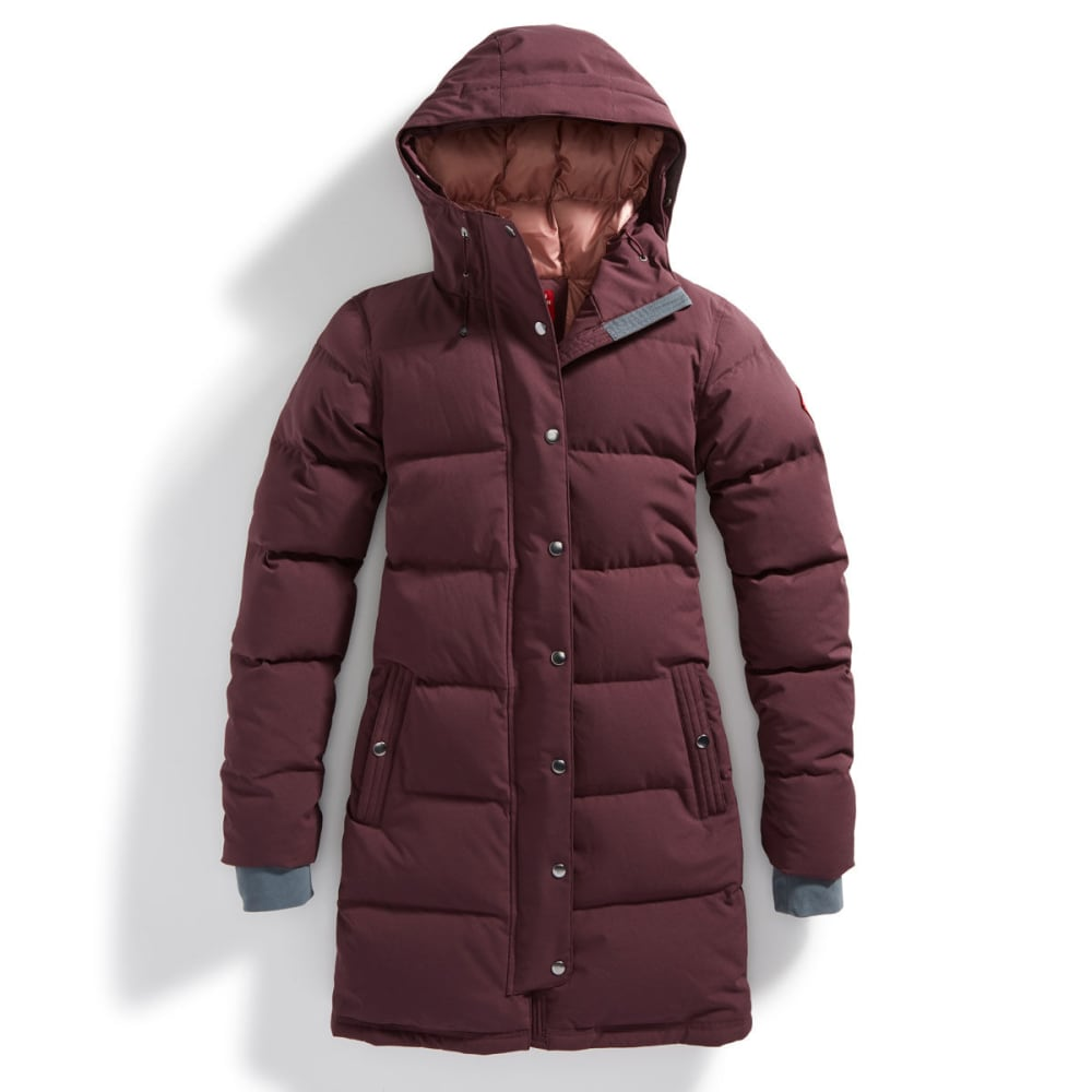 EMS® Women's Klatawa Long Down Jacket - WINETASTING