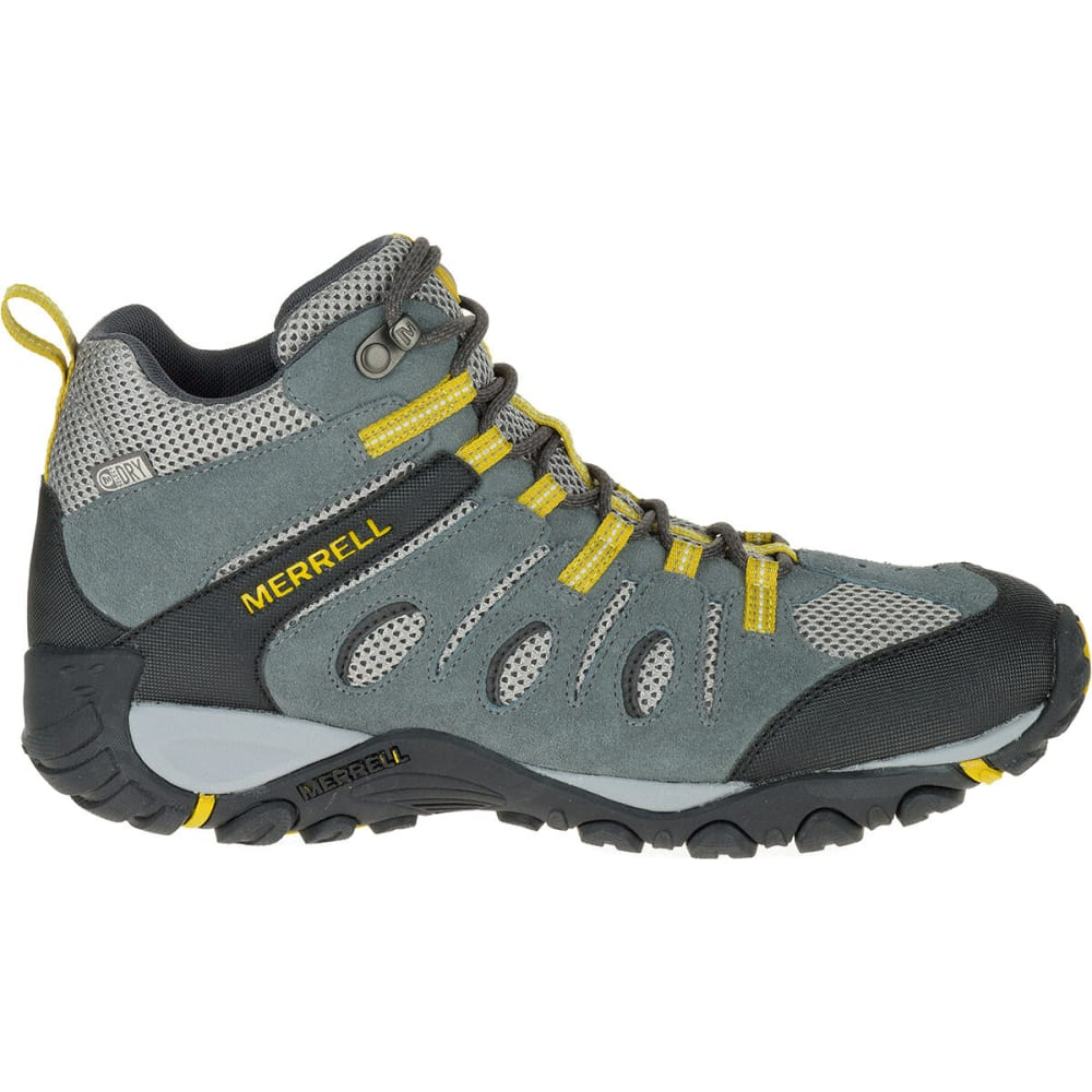MERRELL Men's Onvoyer Mid Waterproof Hiking Boots - SEDONA/ANTIQUE MOSS