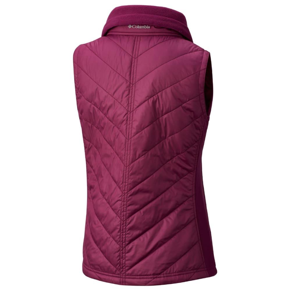 COLUMBIA Women's Mix It Around Vest - 520-DARK RASPBERRY