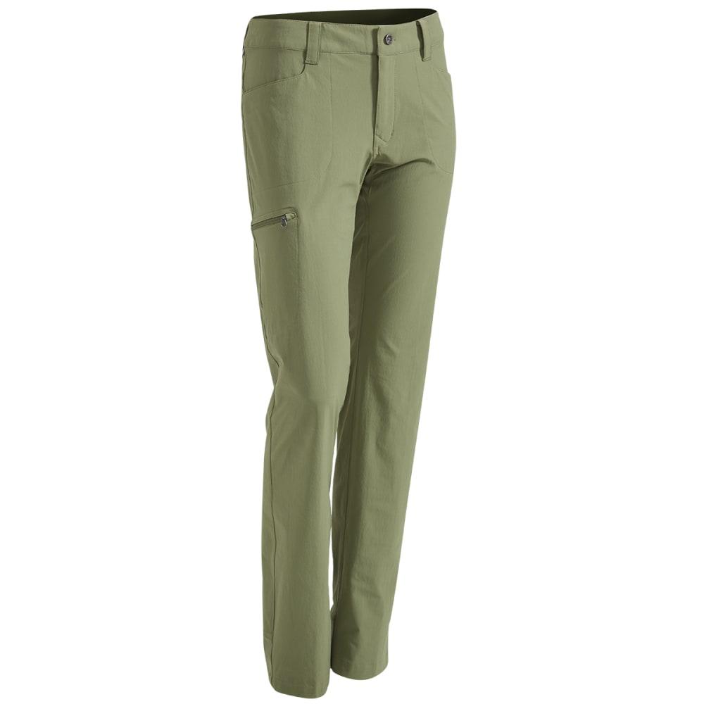 EMS Women's Compass Slim Pants - Brown - Size 16 F16W0453