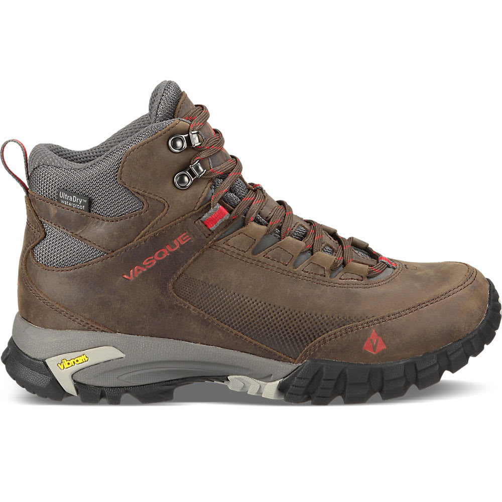 VASQUE Men's Talus Trek UltraDry™ Hiking Boots - SLATE BRN/CHILI PEP