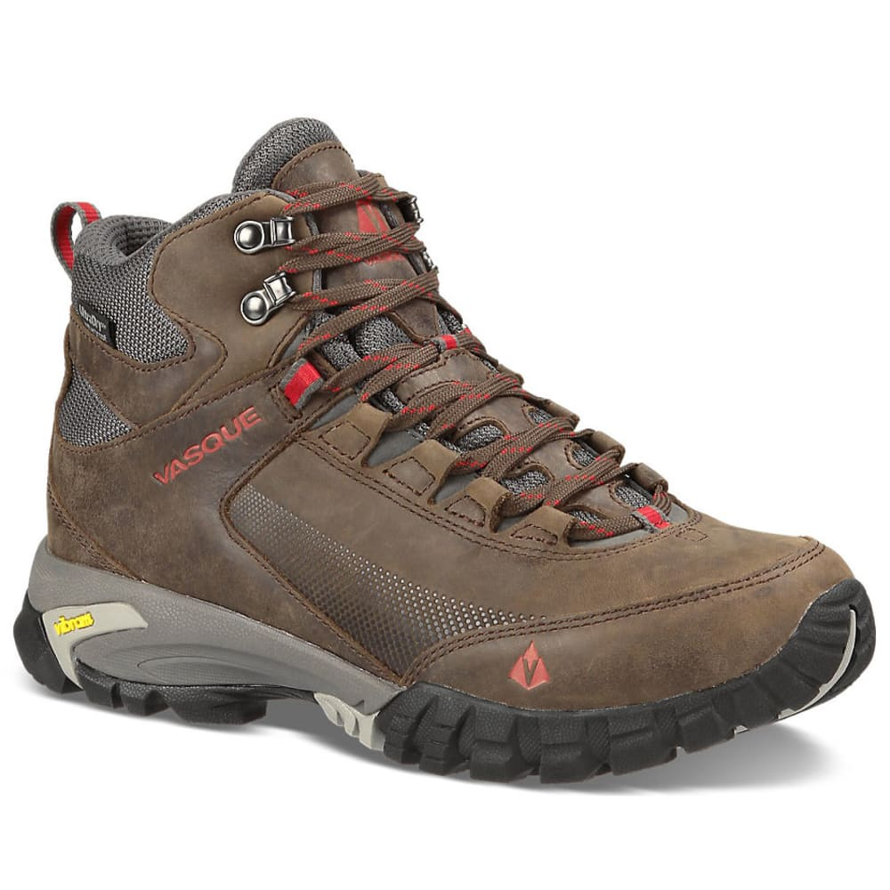 VASQUE Men's Talus Trek UltraDry Hiking Boots - SLATE BRN/CHILI PEP