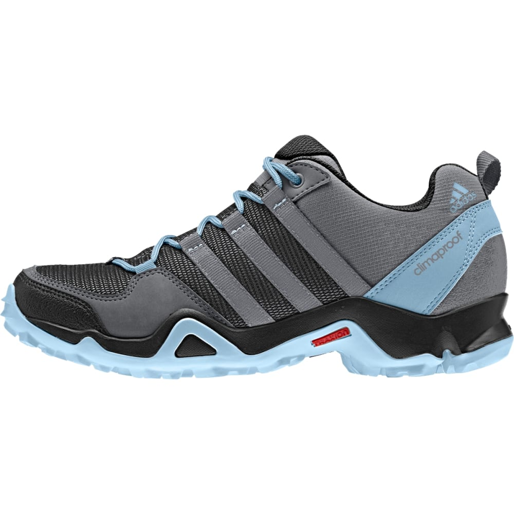 ADIDAS Women's AX2 Climaproof Shoes, Vista Grey/Black - V GREY/GREY/BLK