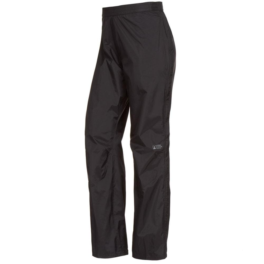EMS Women's Thunderhead Full-Zip Rain Pants - BLACK