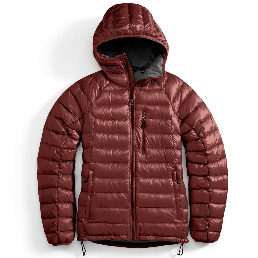 EMS Men's Feather Pack Hooded Jacket - FIRED BRICK