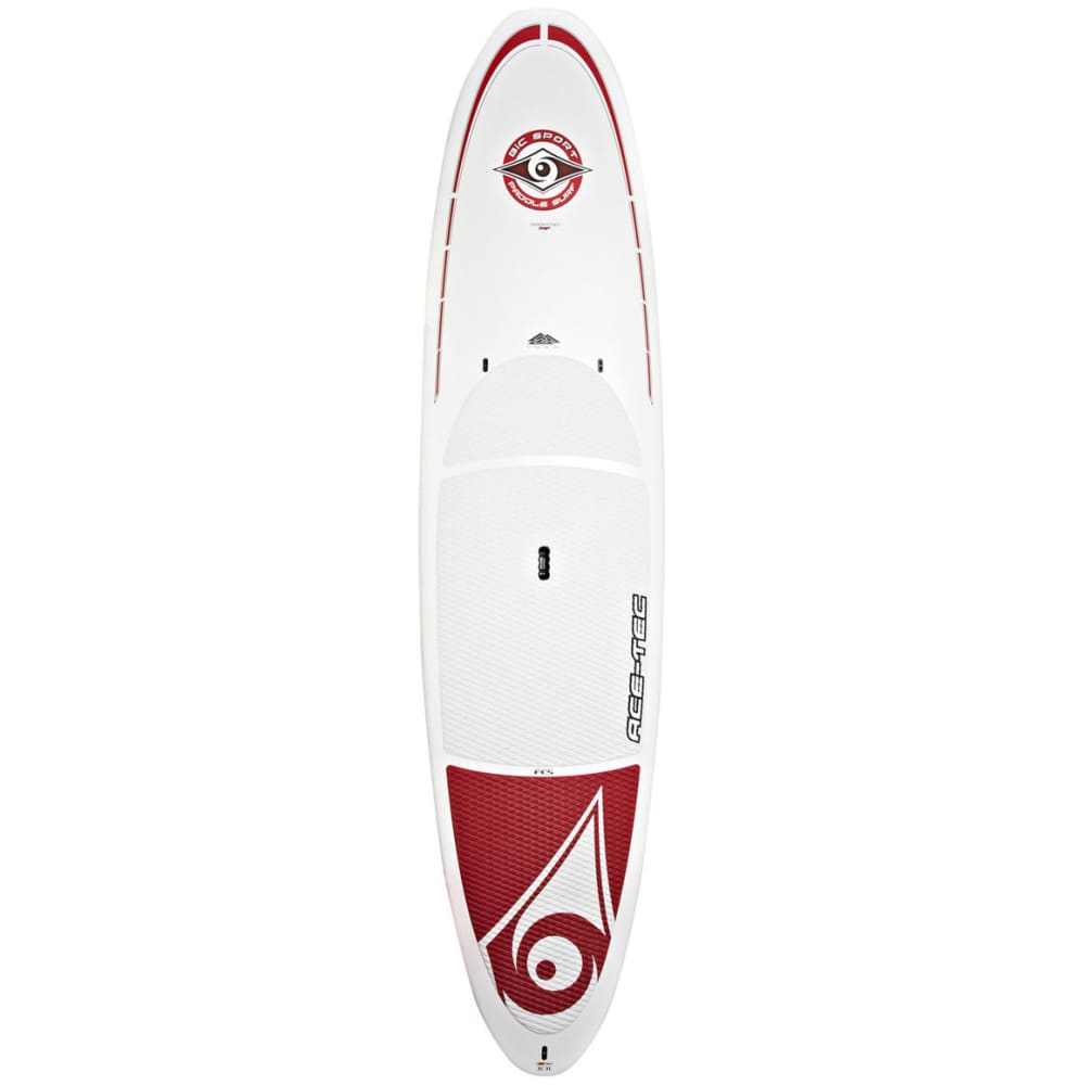 BIC Ace-Tec Original Stand Up Paddleboard, 11 ft. 6 in.  - WHITE/RED