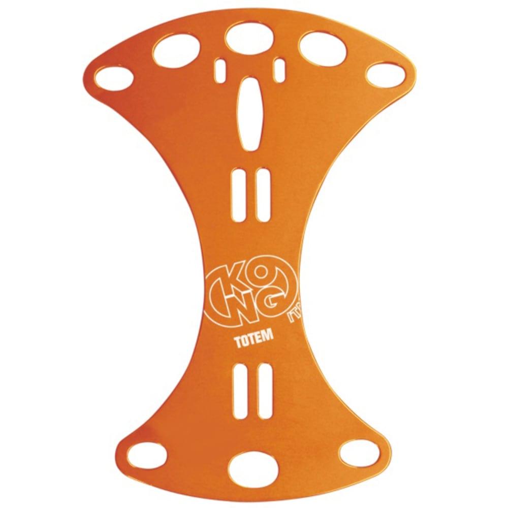 KONG TOTEM Friction Plate - ORANGE