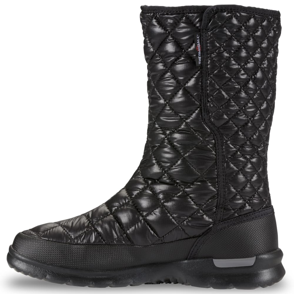 THE NORTH FACE Thermoball Button Up Black Womens Boots
