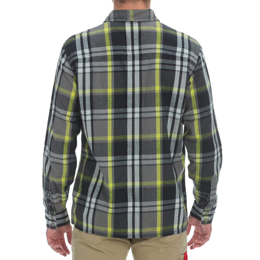 EMS® Men's Timber Flannel Shirt - CAVIAR