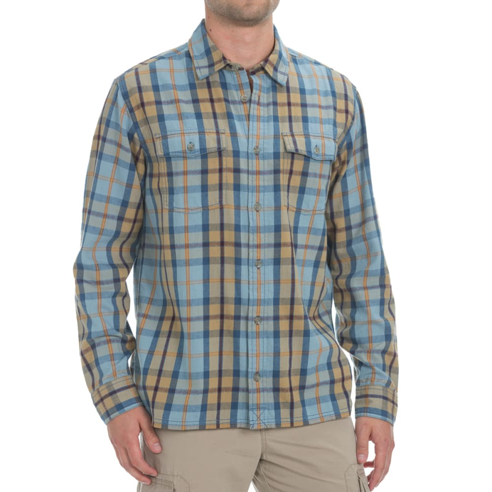 EMS® Men's Timber Flannel Shirt - FADED DENIM