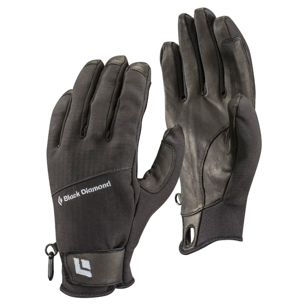 BLACK DIAMOND Pilot Gloves - BLACK