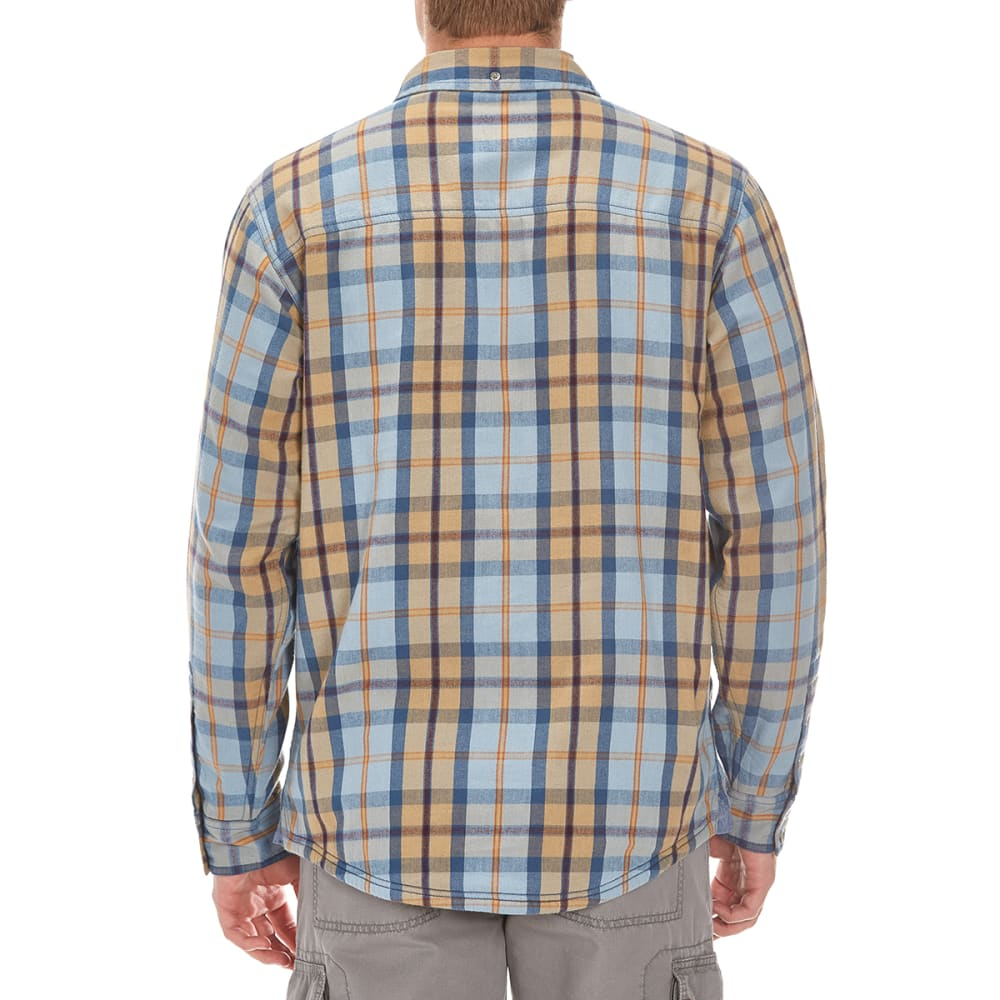 EMS® Men's Timber Lined Flannel Shirt - FADED DENIM