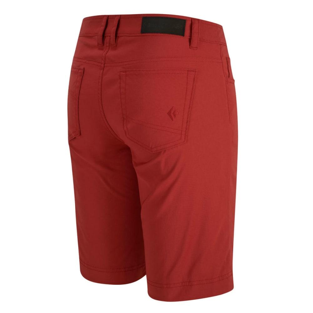 BLACK DIAMOND Women's Creek Shorts, 11 in. - MAROON