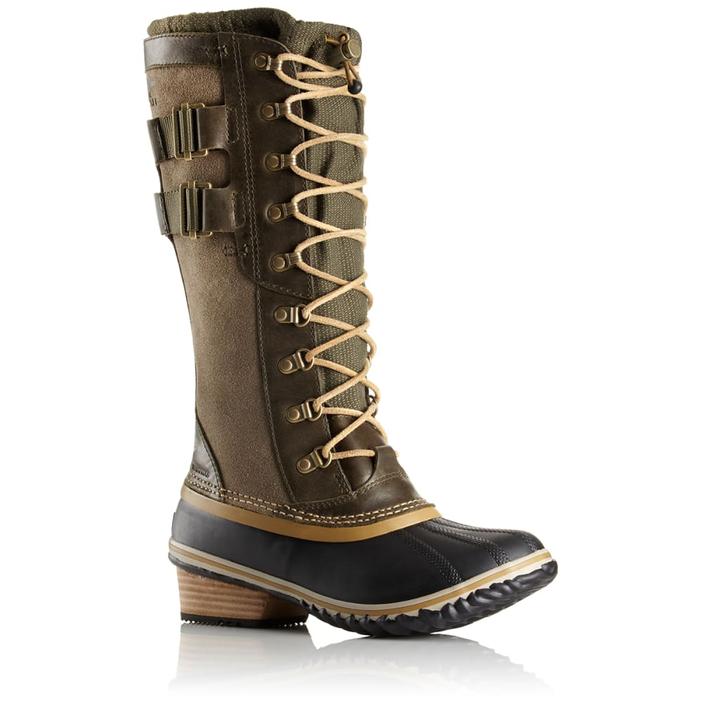 SOREL Women's Conquest Carly II Boots, Peatmoss - PEATMOSS